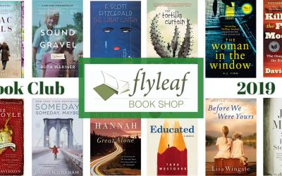 Flyleaf Book Club 2019